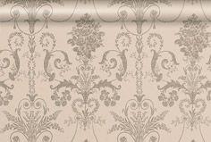Josette Truffle Wallpaper