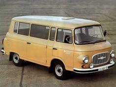 1961-1991 Barkas B1000 KB minibüs - East German Car, Rda, Classic Campers, Car Camper, Fiat 600, Cool Vans, Vintage Vans, Car Posters, Commercial Vehicle