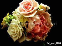 Cold porcelain flowers by cloverelfarts on deviantART