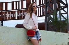 Borgo Pinti Shoulder Leather Bag -calfskin  www.bidinis.com