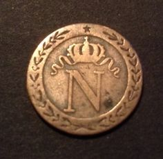 1919 Belgian Congo 10 Centimes Fantastic Old Coin See Pics