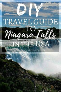 DIY Travel Guide to Niagara Falls, NY, USA  One of the most fascinating natural wonders in the world, Niagara Falls is a must for anyone backpacking in the United States of America and Canada. The Niagara falls is a family-friendly destination, which is also a perfect place for traveling couples looking for a small romantic getaway. Located not far from New York, Niagara Falls are a great option for both weekend travels of busy city dwellers and road trips of nomadic souls. #newyorktravel