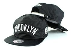 best loved 3cf0b edd50 Brooklyn Nets NBA Mitchell Ness Team Stripe Adjustable Zip Strapback Hat      See this great product.