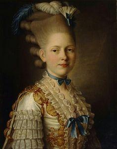Portrait de S. M. Obolensky, 1776-77 Alexander Roslin