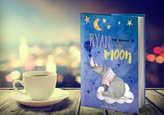 'Ryan the rhino and the Moon' book cover on Behance