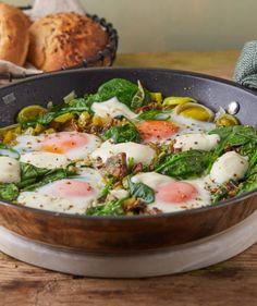 Green Kitchen, Superfood, Potato Salad, Brunch, Potatoes, Ethnic Recipes, Street, Lasagna, Potato
