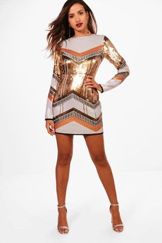 852a1037 Boutique Sequin Bodycon Dress | Boohoo Dress Outfits, Fashion Dresses,  Cocktail Attire, Bodycon