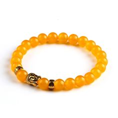 Lava Buddha Skull head Beads Bracelets Natural Stone Bracelets For Women Men Jewelry pulseras