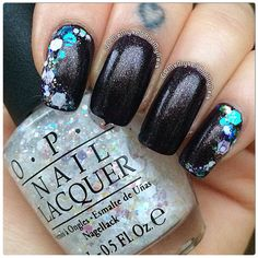 #OPI 'First Class Desires' and 'Snow Globetrotter'