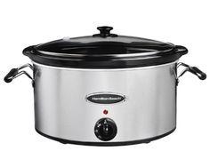 Hamilton Beach 33172 7Qt. Slow Cooker // http://cookersreview.us/product/hamilton-beach-33172-7qt-slow-cooker/  #cooker #pressure #electric