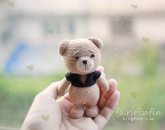 Crochet Bear <3 I just LOVE ted bears <3