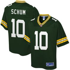 Jacob Schum Green Bay Packers NFL Pro Line Youth Player Jersey - Green