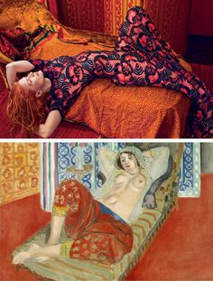 """In Paris, you'll find Henri Matisse's Odalisque with Red Culottes at the Centre Georges Pompidou's Musée National d'Art Moderne. The subject Henriette Darricarrère, depicted in this 1921 painting, was the first to model as one of Matisse's reclining odalisques. According to biographer Hilary Spurling, """"He liked her natural dignity, the graceful way her head sat on her neck and, above all, the fact that her body caught the light like a sculpture."""""""