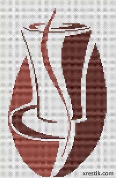 Kofe----10300 Схема для вышивки scheme for cross stitch