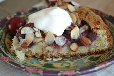 Old Fashioned Cherry Coffee Cake