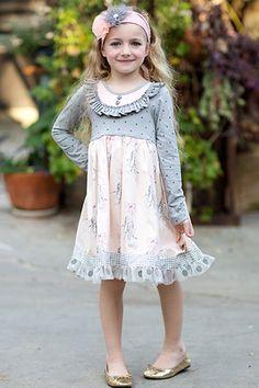 Giggle Moon Graced Greta Dress PREORDER $64.00