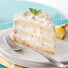 Gâteau aux ananas - 5 ingredients 15 minutes Cake Recipes, Vegan Recipes, Dessert Recipes, Glaze For Cake, Ricardo Recipe, Cordon Bleu, Vanilla Cake, Cupcake Cakes, Cupcakes