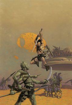 John Carter of Mars Art by Mark Zug