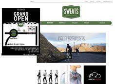 SWEATS http://www.sweats.co.kr/ 프리미언 러닝, 사이클링웨어 셀렉샵, cAFE DU cYCLISTE, ASHMEI, VUL...
