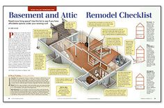 Preview - Basement and Attic Remodel Checklist - Fine Homebuilding Article