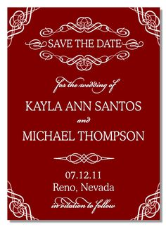 Printable Save the Date - SOPHIE. $15.00, via Etsy. Michael Thompson, Save The Date, Dating, Printables, Handmade Gifts, Etsy, Kid Craft Gifts, Quotes, Print Templates