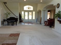 Family room and Entryway