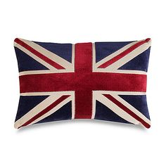 If I ever give up on making one myself -- Union Jack 20-Inch Decorative Toss Pillow -- Bed, Bath and Beyond $25