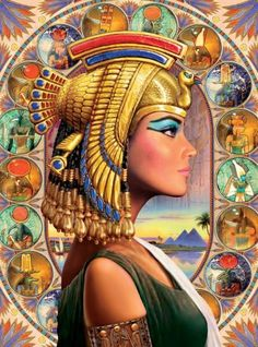 EGYPT~Queen Nefertari,whose name means the most beautiful of them all,was not an ordinary queen. She was the beloved wife of the great pharaoh, Ramesses II. Ancient Egyptian Art, Egyptian Goddess, Isis Goddess, Egyptian Pharaohs, Diamond Drawing, Egypt Art, Paint By Number Kits, Number Art, Art Mural