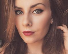 Image result for fake nose ring