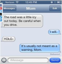 dont swipe 11 Reasons Why Parents Should Never Be Allowed to Text 10 - https://www.facebook.com/diplyofficial