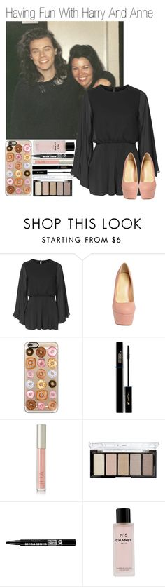 """""""Having Fun With Harry And Anne"""" by amanda-432 ❤ liked on Polyvore featuring Topshop, Casetify, Lancôme, Ilia, H&M, Bourjois and Chanel"""