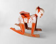 """Saatchi Art Artist: peter jakubik; Wood 2013 Sculpture """"Mia rocker"""""""