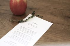 DIY Printable Wedding Menu Card on #Etsy. http://www.etsy.com/listing/99755893/printable-playful-typography-menu-card
