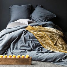 Madera Duvet Cover by Bella Notte Linens >> Beautiful!!