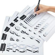 Lettering Practice Worksheets