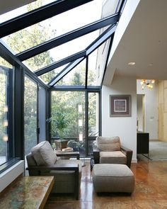 The Bridge House - modern - entry - seattle - Castanes Architects PS