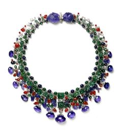 Tutti Frutti necklace. Cartier Paris, special order, 1936, altered in 1963.....one day I will own this!