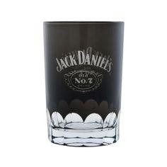 Black JD Shot Glass