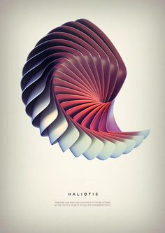 Revolved forms on Behance