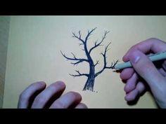 Comment dessiner un arbre - conseils et images à vous aider réaliser un joli dessin
