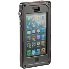 Peli ProGear Vault Case for iPhone 5. Water, snow, dust, chutes... Nothing to worry about anymore :-)  http://www.PeliShop.com/peli-progear-ce1180-vault-series-iphone-case.html