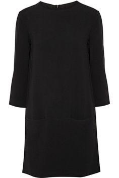 The Row | Marina crepe mini dress | NET-A-PORTER.COM