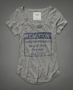 Limited Edition Valentine's Day Tee from Abercrombie & Fitch
