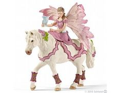 The Schleich Feya in Festive Clothes, Riding from the Schleich World of Fantasy collection - Discounts on all Schleich Toys at Wonderland Models.  One of our favourite models in the Schleich Bayala range is Feya in Festive Clothes, Riding.