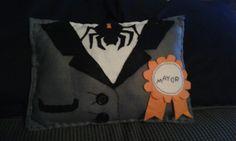 Handmade #nightmarebeforechristmas mini cushion #mayor