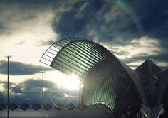 Lichtecht: Architektur- und 3D-Visualisierungen aus Hamburg TGV Bahnhof in Lyon