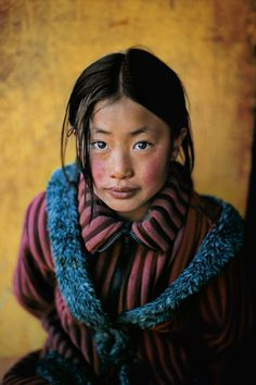 Tibetan Asian little girl