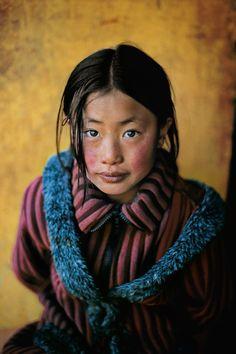 Tibetan Asian little girl
