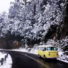 Lots of snow around the state at the moment with snow falling on the high planes and mountains out west. Expect snow on the hills around Hobart this week as well. Image sent in by Mandy Marr while driving through the Franklin Gordon Wild Rivers National Park. https://instagram.com/p/BHuM1x8jILc/