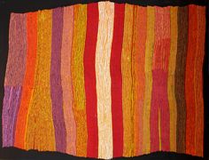 Ray Ken, Ngayuku ngura - My Country, 2012 Acrylic on linen, 152.5 x 198 cm. Marshall Arts, Adelaide.